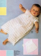3 ply christening dress long or short