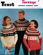 His & hers chunky fair isle yoke polo necks
