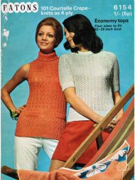 Great summer lace jumper tops