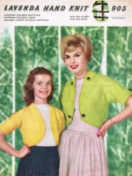 Mother & daughter neat shrug or bolero