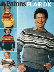 Family fair isle style jumpers