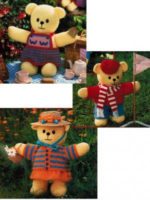 Boy or girl teddy with clothes