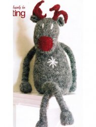 Rudolph the red nosed reindeer toy