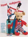 Patriotic teddy & soldier character toys