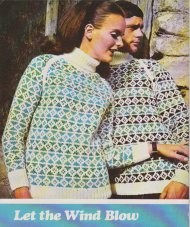 Chunky patterned fair isle his n hers polo neck raglan sweaters