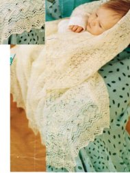 Super fine 1 ply shetland lace baby christening shawl