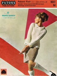 Mary Quant jumper & socks with crochet trim