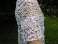 Pattern no.410 gorgeous crochet 'beach' top