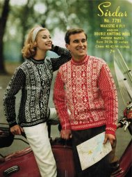 Beautiful his & hers snowflake fair isle jumpers