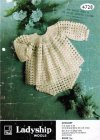 Crochet baby dress or angel top & pants