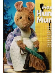 Beatrix Potter Hunca Munca mouse toy