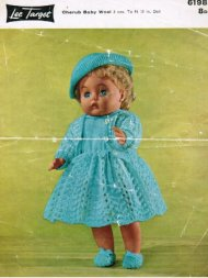 "Baby doll complete outfit for 16"" doll"