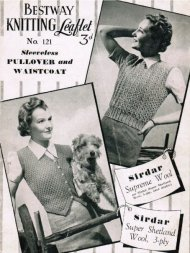 1940's war time lightweight waistcoat and sleeveless top