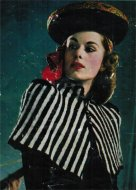 1940's striped mini cape to knit & hats to sew