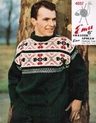 Great chunky fair isle jumper for him