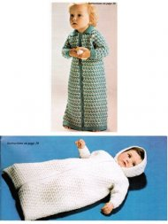 Cosy dressing gown or baby sleeping bag