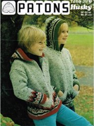 Children's zipped alpine hoodie
