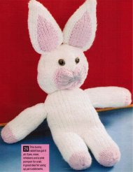 Cute Easter bunny rabbit toy