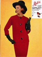 "Chic ""Jackie O"" style raglan skirt suit"