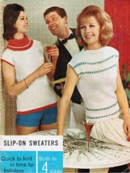 2 summer tops from the early 60's