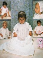 Baby layette & christening dress