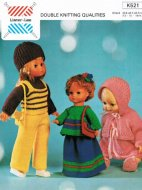 70s Dolls' fashion outfits