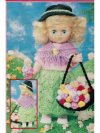 Easter flower girl doll's clothes set