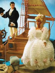 Barbie & Ken bride & groom wedding outfits