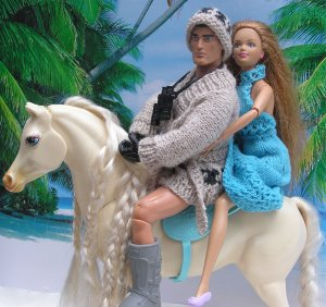 Fashion Action Man - to the rescue!