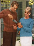 Classic ribbed jumper with saddle shoulder