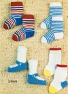"Cute little baby fun socks and ""shoe"" socks"