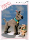 Scooby Doo & Scrappy Doo cartoon character toys