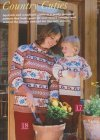 Chunky autumn motif jumper for women and children