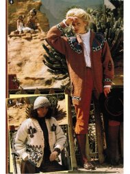 2 gorgeous Navajo motif chunky cardigans & hat