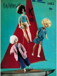 Groovy Sindy crochet doll's clothes from the 70's