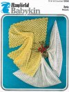2 fine baby shawls one crochet & one knitted