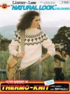 Icelandic / alpine patterned aran jumper