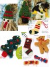 9 mini Christmas decorations