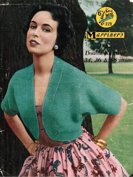 Classic Style Bolero In Easy Garter Stitch 283 175 Patterns